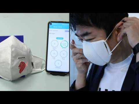 Translation tools, air purifiers: face masks go high-tech