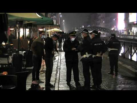 Curfew ordered in Milan amid record Covid cases across Europe