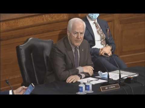 Dems abstain as Senate panel endorses Trump's Supreme Court pick