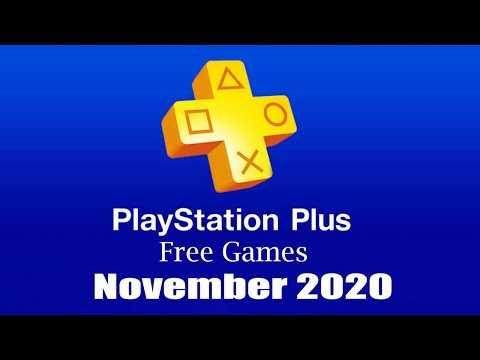 PlayStation Plus Free Games - November 2020