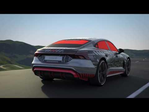 Audi e-tron GT prototype – Thermal management - drive