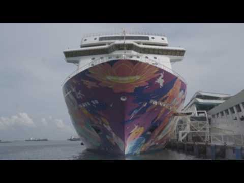 """A cruise to """"nowhere"""" sets sail in Singapore to revive tourism"""