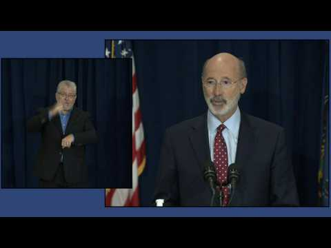 Pennsylvania Governor Tom Wolf: 'our democracy is being tested in this election'