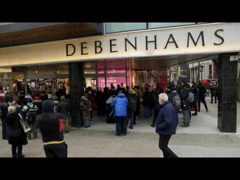 UK department store Debenhams collapses putting 12,000 jobs at risk