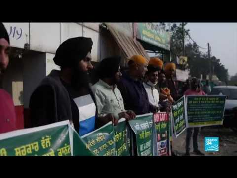 Indian farmers continue to protest over agricultural reforms as New Delhi asks for talk-break