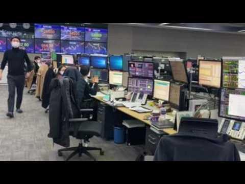 South Korea stocks rise 1.31% to close at record high