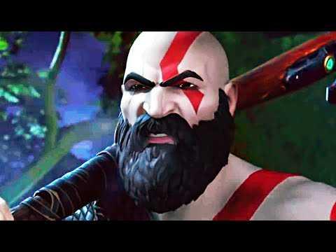 KRATOS in FORTNITE Trailer (2020) God of War