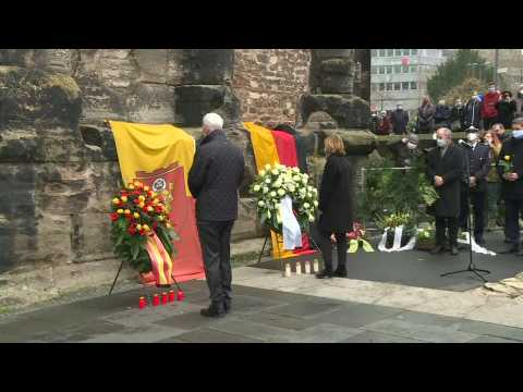 Trier pays tribute to people killed after man drives into crowd of shoppers