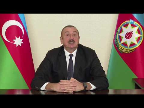 Nagorno-Karabakh: Azerbaijan's president celebrates 'new reality'