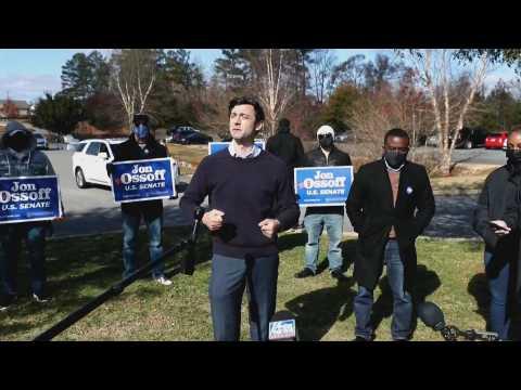 Georgia Democratic US Senate Candidate Campaigns