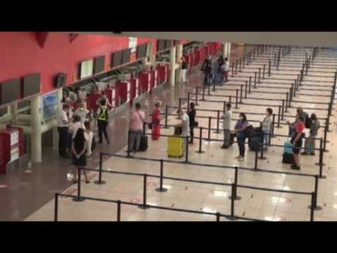 Havana International Airport reopens after months of closure