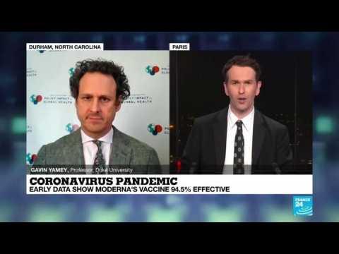 Coronavirus Pandemic, early data show Moderna's vaccine 94.5% effective