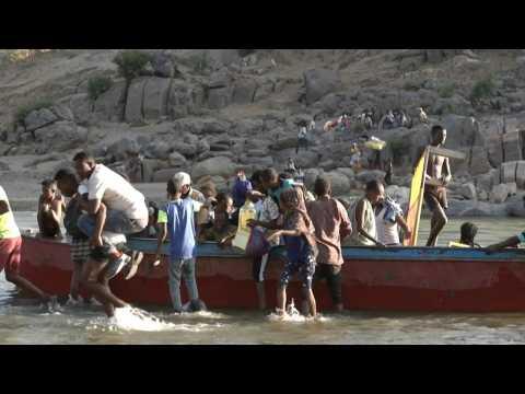 Ethiopians flee Tigray conflict to find refuge in Sudan