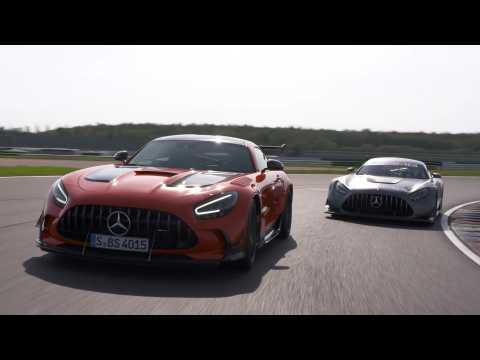 Mercedes-AMG GT3 and Mercedes-AMG GT Black Series Preview