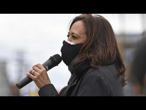 Fact-check: Did Kamala Harris illegally campaign outside an Ohio polling station? #TheCube