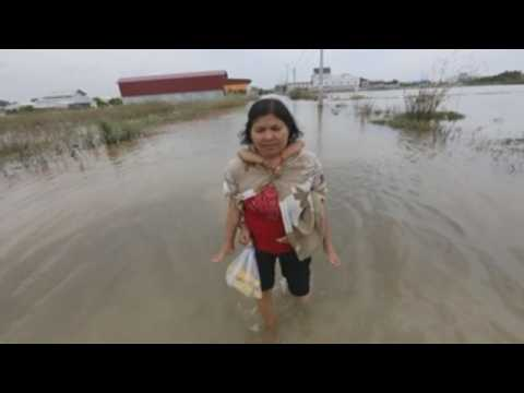 Floods in Cambodia leave at least 44 dead