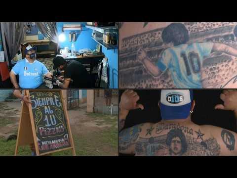 Maradona aficionado gets 10th tattoo of the football legend who turns 60