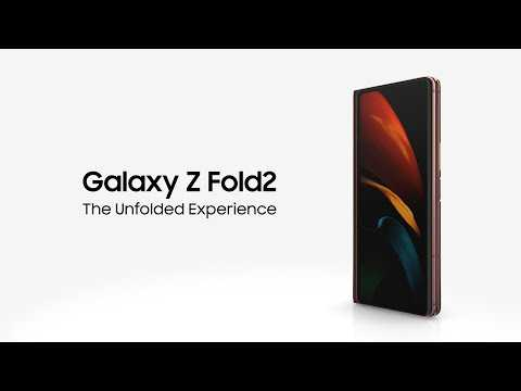 Galaxy Z Fold2 5G: Unfold for More Space to Play | Samsung