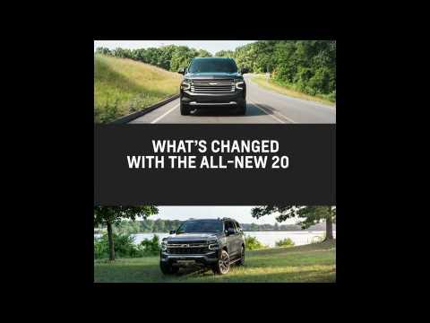 2021 Chevrolet Tahoe & Suburban - Key Changes