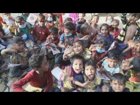 India commemorates World Children's Day