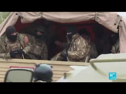 Azerbaijan troops enter first district handed over by Armenia