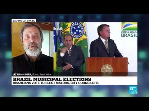 Brazil municipal elections : Brazilian vote to elect mayors, city councilors