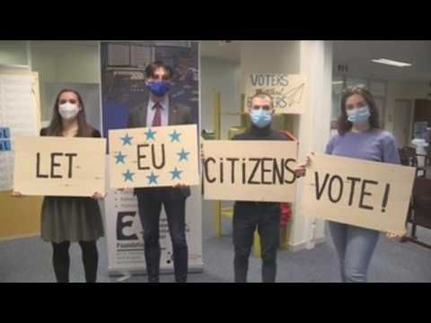 """""""Voters Without Borders"""" collecting 1 million signatures to expand voting rights of Europeans"""