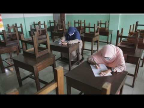 Schools begin to reopen in Indonesia with health protocols amid pandemic
