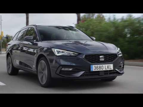 New SEAT Leon e-HYBRID in Sportstourer Magnetic Tech Driving Video