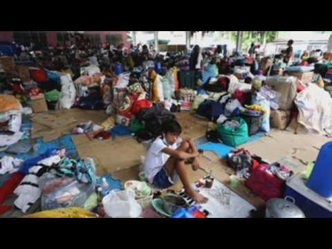 Typhoon evacuation centers in Philippines raise concerns for possible COVID 19 cases