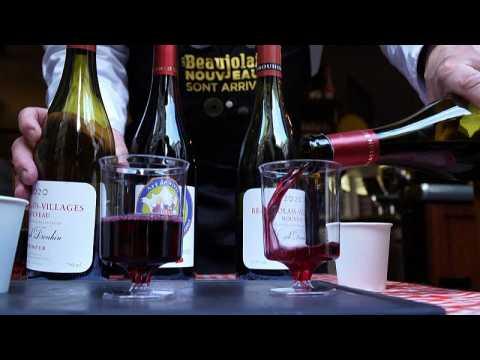 Paris restaurateur serves up Beaujolais Nouveau to help forget COVID crisis
