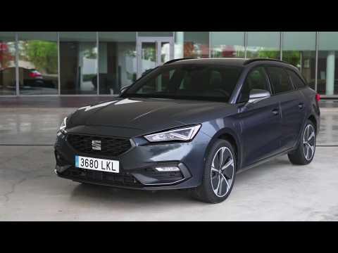 New SEAT Leon e-HYBRID Design in Sportstourer Magnetic Tech