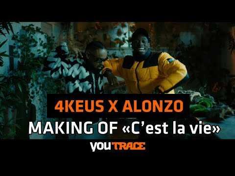 """4 Keus feat Alonzo - MAKING OF dans les coulisses du clip """"C'EST LA VIE"""""""