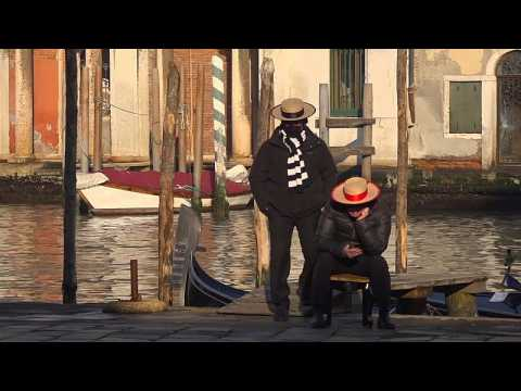 Empty canals and idle gondoliers: COVID-19 hits hard in Venice