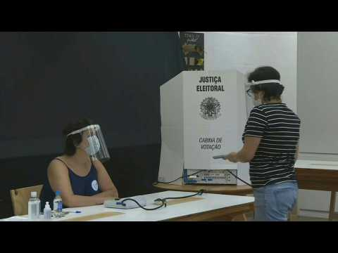 Sao Paulo: polling stations open for the 2nd round of municipal elections