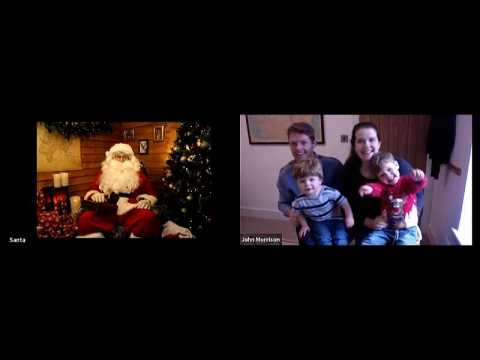 Visits to Father Christmas go virtual amid COVID-19 pandemic