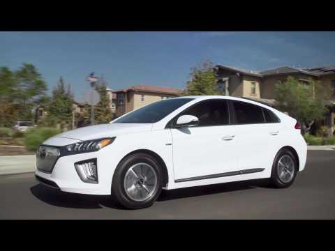 2021 Hyundai IONIQ Electric Driving Video