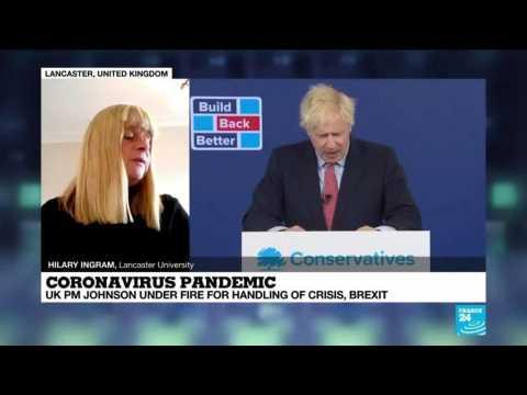 Covid-19 pandemic : Boris Johnson under fire for handling of crisis