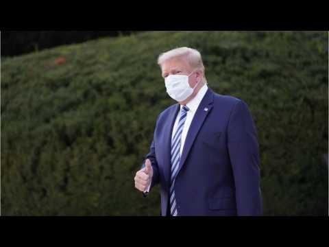 Memo Claims Trump Symptom-Free For 24 Hours