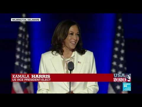Biden wins: Voters ushered in 'new day for America', says Vice President-elect Kamala Harris