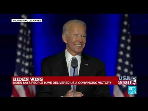 REPLAY: US President-elect Joe Biden vows to unite America after 'convincing' victory