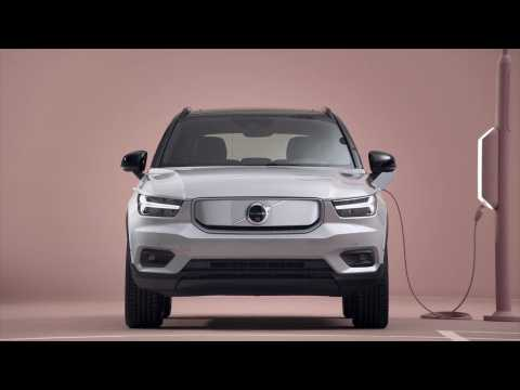 Volvo XC40 Recharge Design in Studio