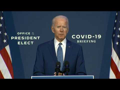 Biden calls for mask-wearing 'to get back to normal as fast as possible'