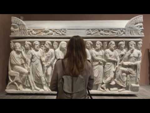 Rome's Capitoline Museums exhibit set of pieces from the Torlonia collection