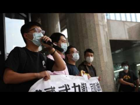 Hong Kong activists rally in support of Thai pro-democracy protesters