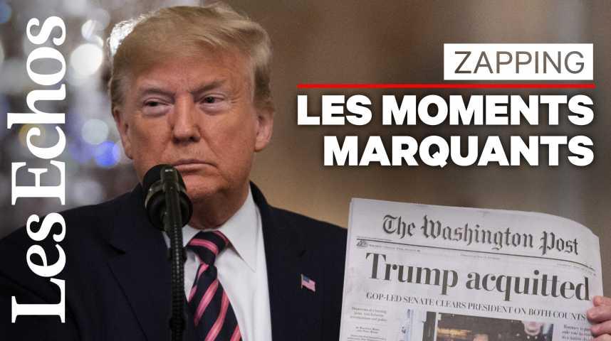 Illustration pour la vidéo Les moments marquants de la présidence de Donald Trump (2016-2020)