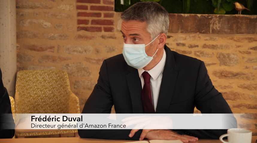 Thumbnail Opération séduction des patrons d'Amazon France à Quimper