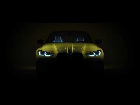 The new BMW M4 Competition Coupé Teaser