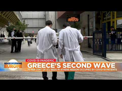 Greece's second wave: 70% of ICU beds in Athens region occupied by COVID-19 patients