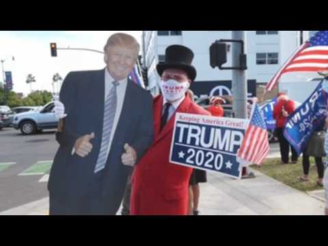 Pro-Trump rally turns chaotic in Beverly Hills